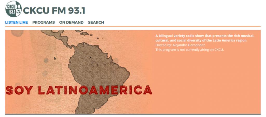 Latin America Caribbean Political Economy CKCU 93.1 FM